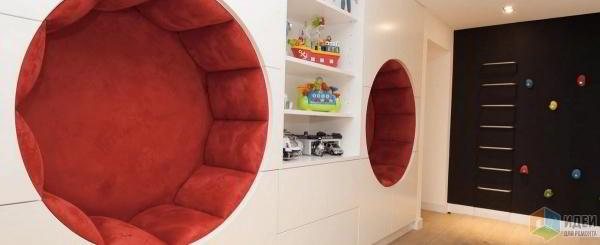 Дизайнерские идеи для игровой зоны в детской