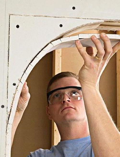 Как сделать арку в дверном проеме своими руками: фото примеры и видео инструкция