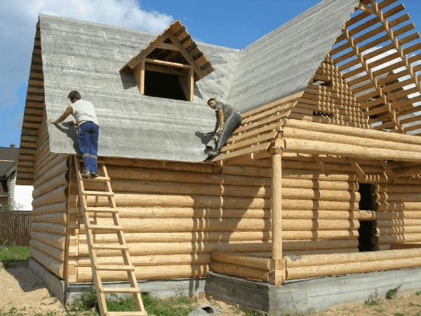 Как построить крышу дома своими руками за 6 шагов