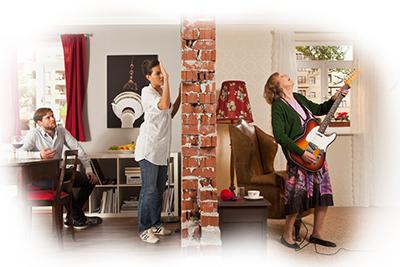 Звукоизоляция квартиры, материалы для шумоизоляции комнат в квартире — Acoustic Group