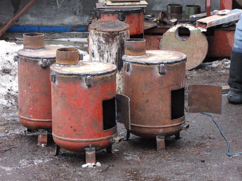Делаем печь для гаража своими руками: кирпичную, буржуйку, длительного горения