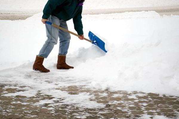 Как заботиться о плитке зимой