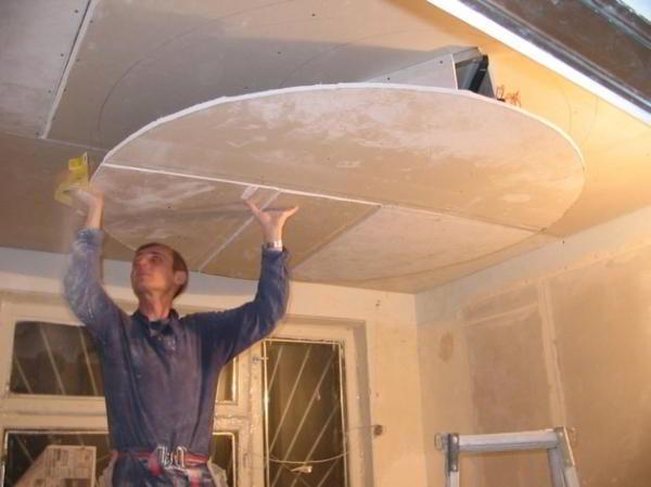 Материалы и конструкции каркаса подвесных потолков