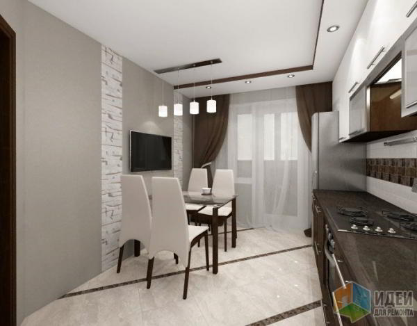 Проект двухкомнатной квартиры в Смоленске