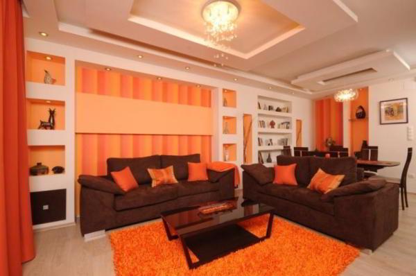 Как правильно подобрать цвет интерьера комнат в квартире
