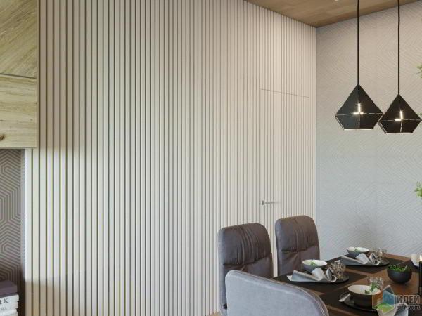 Трехкомнатная квартира, 76 кв. метра