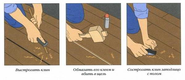 Что делать если скрипит деревянный пол и как устранить?