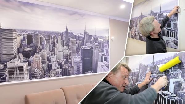 Фотообои на стену — правила выбора от профессионалов, фото, видео
