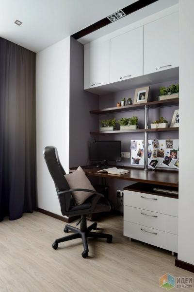Дизайн-проект квартиры 100 м2 в ЖК Гагаринский