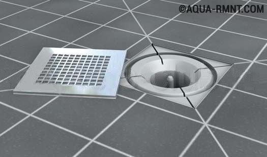 Как правильно сделать слив в полу своими руками