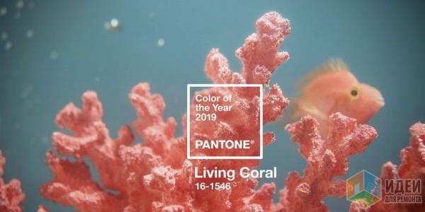 Цвет 2019 года пришёл из подводного мира