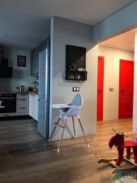 Квартира с цветными дверями. Промежуточные итоги.