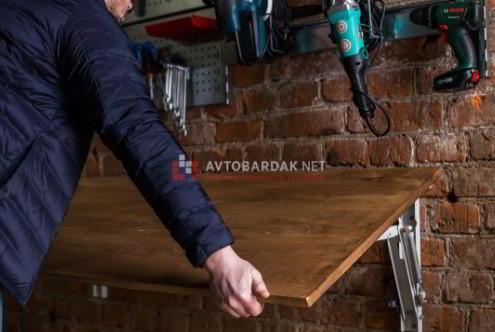 Как сделать откидной стол с креплением к стене своими руками