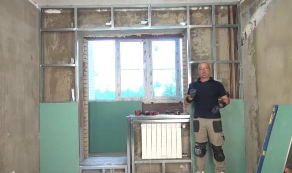 как укрепить стену своими руками