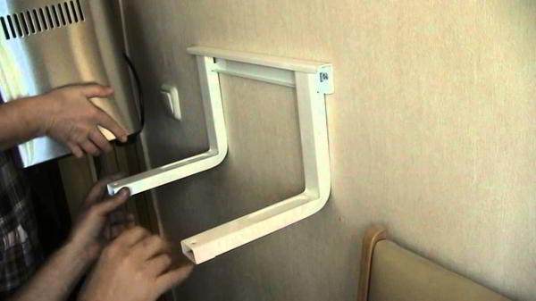 Как сделать микроволновку на стену своими руками