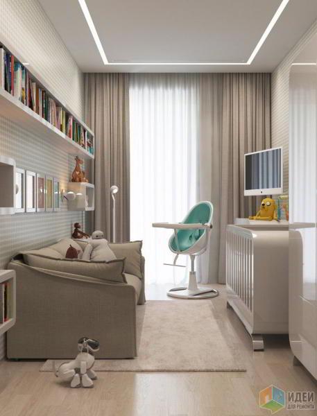 Квартира в светлых полутонах