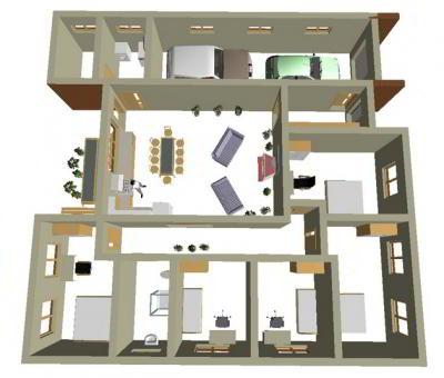 Общая планировка постройки собственного дома