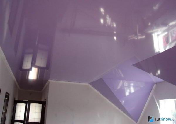 Какие натяжные потолки можно сделать своими руками