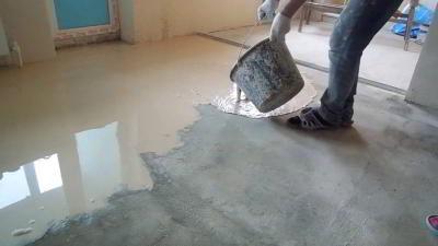 Как правильно сделать наливной резиновый пол своими руками