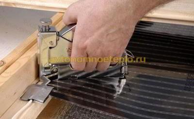 Как правильно уложить пленку для теплого пола своими руками