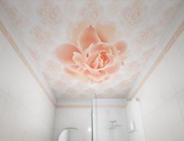 Как сделать натяжной потолок в ванной своими руками