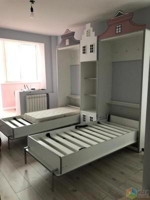 Откидные кровати в виде домиков