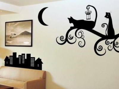 Как украсить стену своими руками