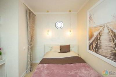 Спальня 19 кв. м — 2019 в новостройке