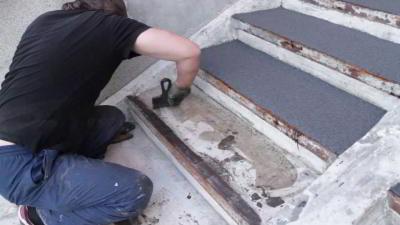 Как правильно уложить резиновую плитку для пола своими руками