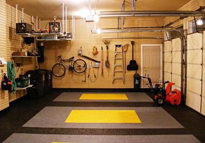 Как сделать стены в гараже своими руками