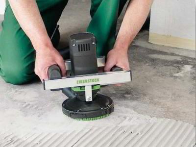 Как правильно сделать шлифовку бетонного пола своими руками