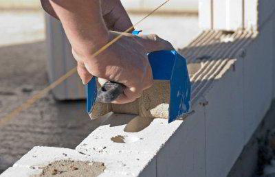 Как сделать стены из пеноблоков своими руками