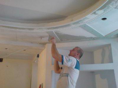 Как сделать потолок из гипсокартона пошаговая инструкция