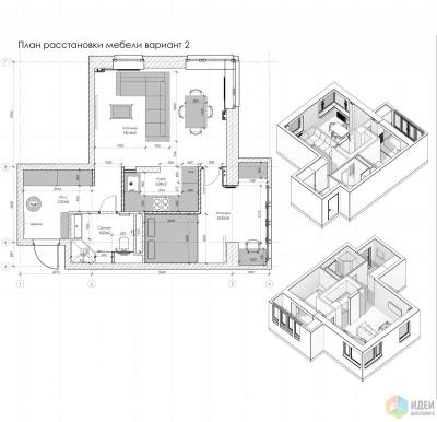 Дизайн квартиры в ЖК «Татьянин парк»