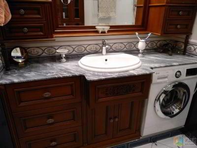 Столешницы в ванных комнатах