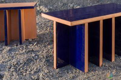 Столики из глины