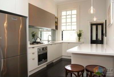 5 идей обустройства маленькой кухни без перепланировки