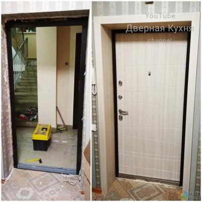 ИЗИ быстрая установка Двери в Новостройке