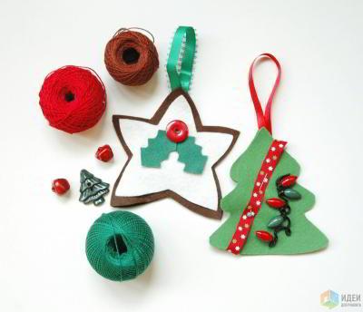 3 простых идеи новогоднего декора на скорую руку