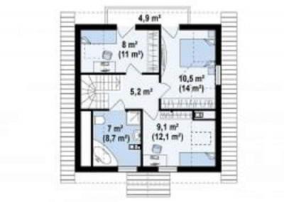 Проект дома из арболита
