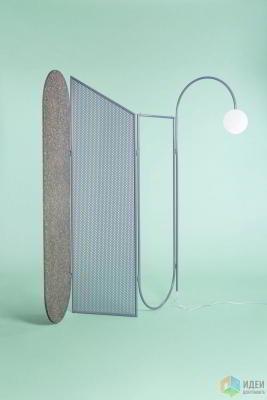 Металлическая мебель как декор