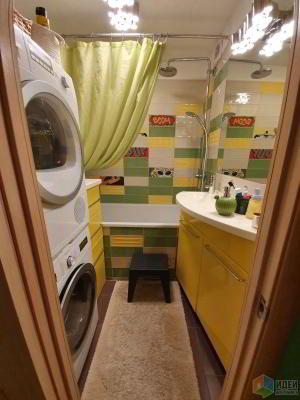 """""""Панельная радуга"""" — Ванная почти """"комната"""""""