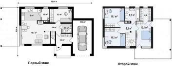 Проекты современного дома с плоской крышей