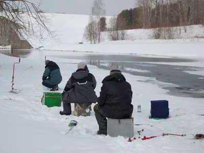 Рыбалка на запрудах