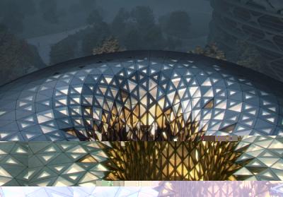 Бюро Zaha Hadid Architects показало, как происходит строительство Острова единорога в Чэнду
