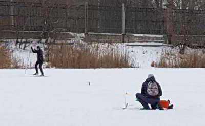 Зимняя рыбалка на стоячих водоёмах в январе