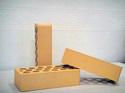 Размеры желтого облицовочного кирпича