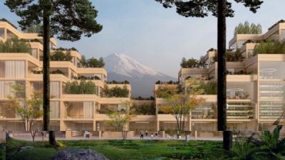 Бюро BIG построит в Японии город будущего