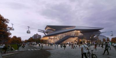 """""""Общественная архитектура — будущее Европы"""": выставка в Музее архитектуры"""
