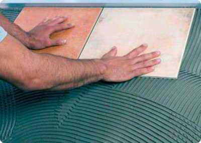 Расход плиточного клея на 1 м2